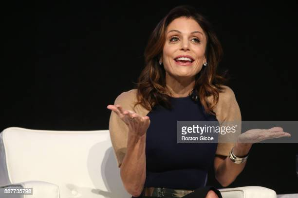 Bethenny Frankel speaks during 'The Cocktail for Success A Conversation With Bethenny Frankel Skinnygirl creator selfmade businesswoman and branding...