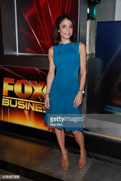 Bethenny Frankel visits 'After The Bell' on FOX Business Network at FOX Studios on June 9 2015 in New York City