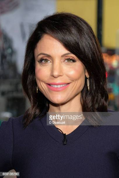 Bethenny Frankel visits 'Extra' at their New York studios at the Hard Rock Cafe in Times Square on March 28 2017 in New York City