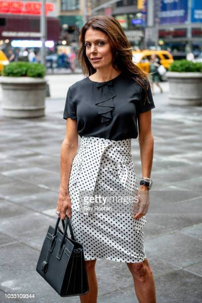 Bethenny Frankel visits Fox Business Network at Fox Business Network to discuss Hurricane Florence Studios on September 14 2018 in New York City