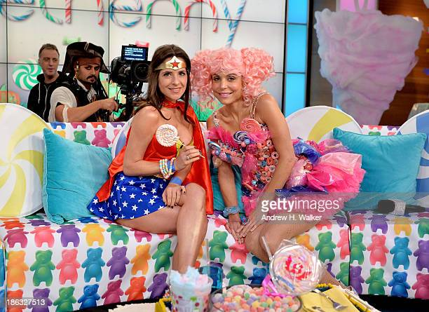 Bethenny Frankel's Halloween Show Bethenny in Candy Land with her completely edible candy set at the CBS Broadcast Center on October 28 2013 in New...