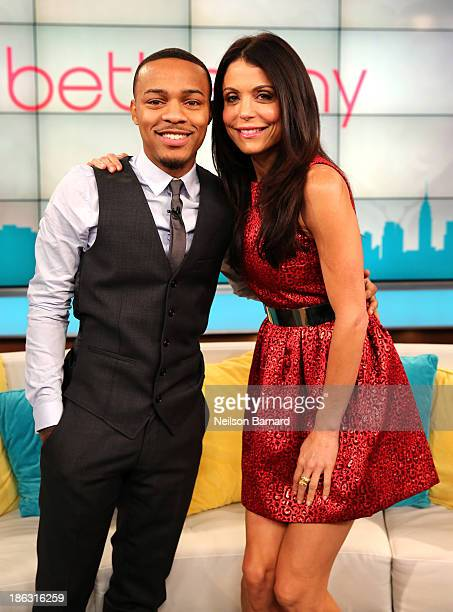 Bethenny hosts Bow Wow Angie Martinez Constantine Maroulis and Michelle Buteau at the CBS Broadcast Center on October 17 2013 in New York United...