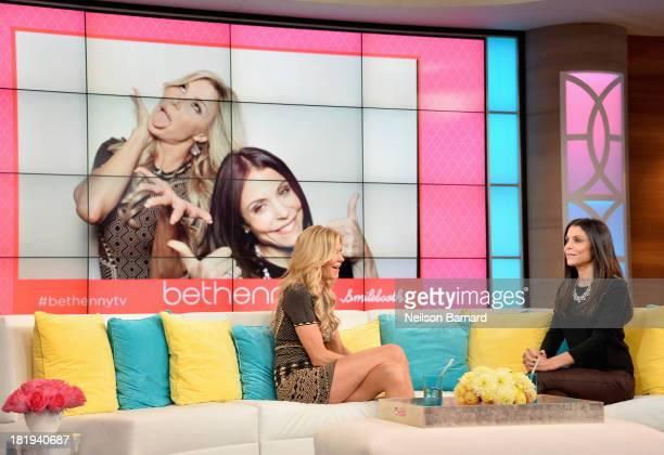 Bethenny hosts Brandi Glanville at the CBS Broadcast Center on September 24 2013 in New York City