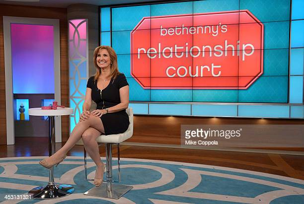Bethenny Hosts Judge Marilyn Milian Reza Farahan of Shahs of Sunset Chrissy Lampkin Finesse Mitchell and Stassi Schroeder at the CBS Broadcast Center...