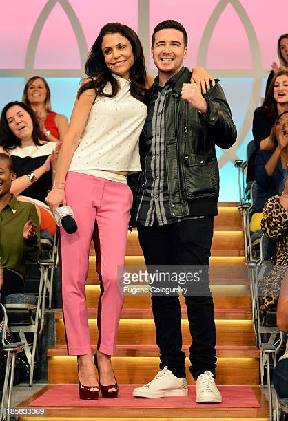 Bethenny hosts Vinny Guadagnino, 73-Year-Old Twerking Grandma Joan Wind, Melissa Rycroft, Garcelle Beauvais, and Heather Dubrow at the CBS Broadcast...