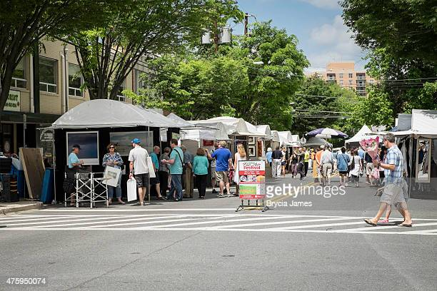 bethesda fine arts festival - bethesda maryland stock photos and pictures