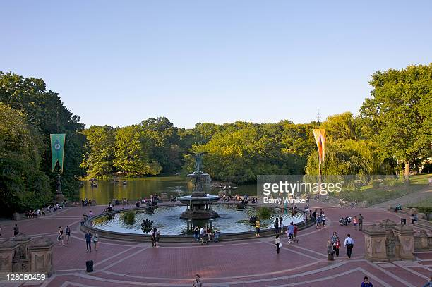 Bethesda Fountain and Terrace, Central Park, New York, NY