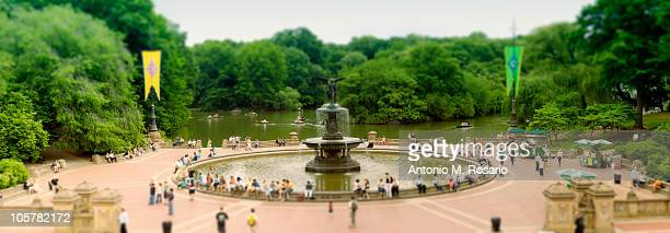 bethesda fountain - bethesda maryland stock photos and pictures