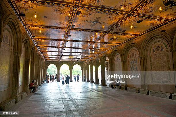 Bethesda Terrace, Central Park, New York, NY
