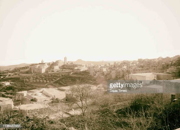 Bethlehem and surroundings Bethlehem and Frank Mountain American Colony Jerusalem 1898 West Bank Bethlehem Israel