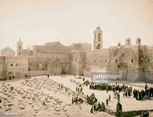 Bethlehem and surroundings. Church of the Nativity. 1898, West Bank, Bethlehem