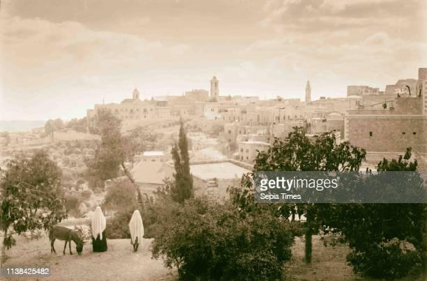 Bethlehem, Christmas Day. 1898, West Bank, Bethlehem