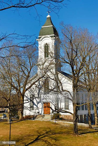 bethlehem united presbyterian church ,nj - presbyterianisme stockfoto's en -beelden