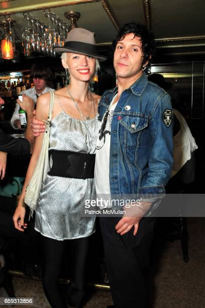 Betina Holte and guest Thomas attend Screening of CHELSEA ON THE ROCKS at The Jane Hotel on September 21 2009 in New York City