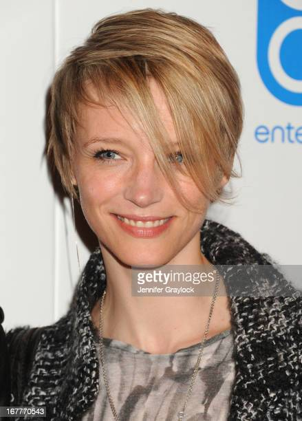 Betina Holte attends the Cinema Society with Swarovski Grey Goose premiere of eOne Entertainment's Scatter My Ashes at Bergdorf'sat Florence Gould...