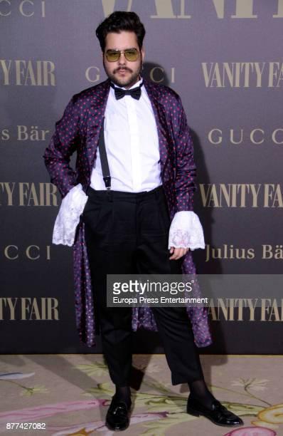 Beto Garcia attends the gala 'Vanity Fair Personality of the Year' to Garbine Muguruza at Ritz Hotel on November 21 2017 in Madrid Spain