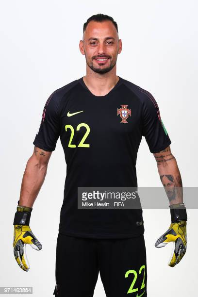 Beto of Portugal poses for a portrait during the official FIFA World Cup 2018 portrait session at the Saturn training base on June 10 2018 in Moscow...