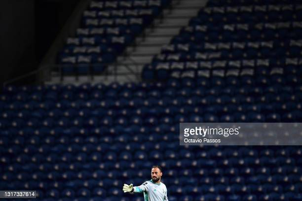 Beto of SC Farense in action during the Liga NOS match between FC Porto and SC Farense at Estadio do Dragao on May 10, 2021 in Porto, Portugal....