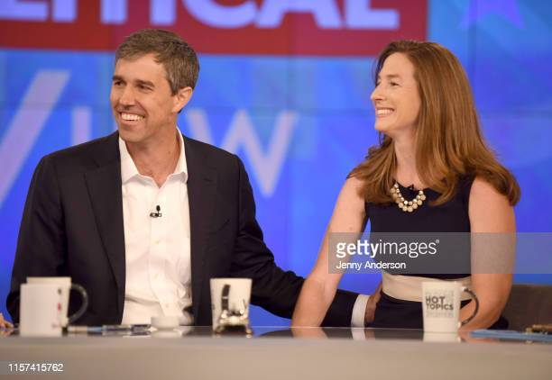 THE VIEW Beto O'Rourke and wife Amy appear on ABC's The View today Tuesday July 23 2019 The View airs MondayFriday on ABC ROURKE AMY