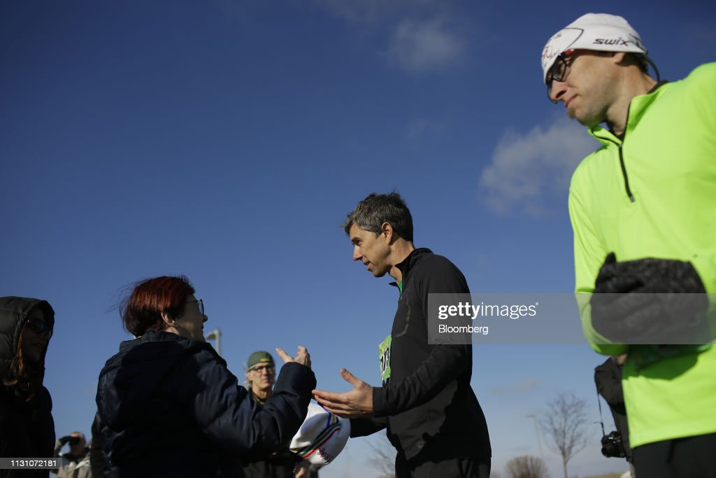 IA: Beto O'Rourke Attends St. Patrick's Day 5K Run