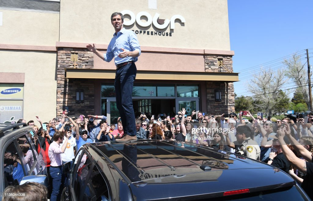 NV: Beto O'Rourke Makes His First Visit To Las Vegas Since Launching Presidential Campaign