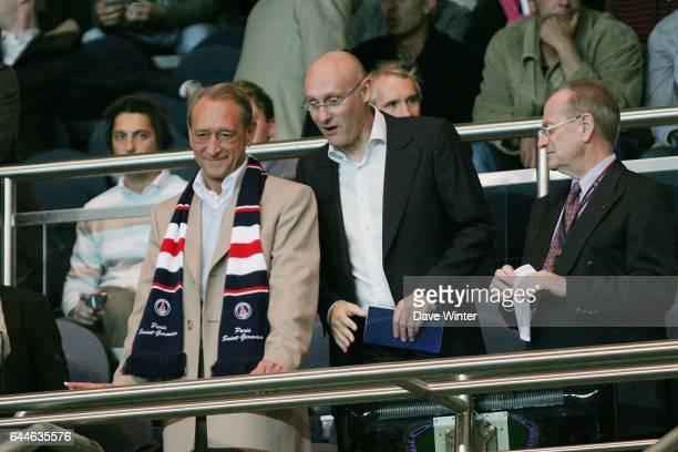Betrand DELANOE / Bernard LAPORTE PSG / Nantes Ligue 1 5e journee Photo Dave Winter / Icon Sport