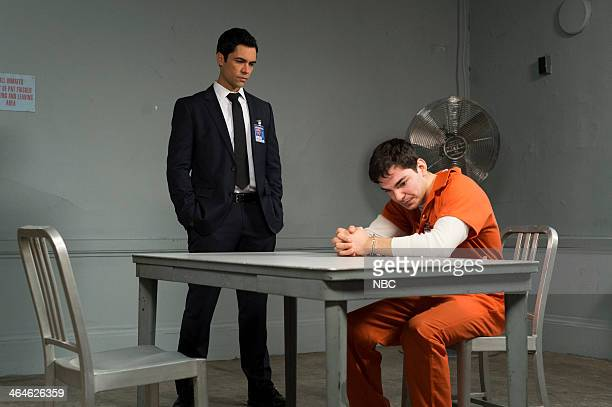 UNIT 'Betrayal's Climax' Episode 1513 Pictured Danny Pino as Detective Nick Amaro Juan Castano as Manny Montero