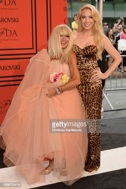 Betsey Johnson and Lulu Johnson attend 2013 CFDA Fashion Awards at Alice Tully Hall on June 3 2013 in New York City