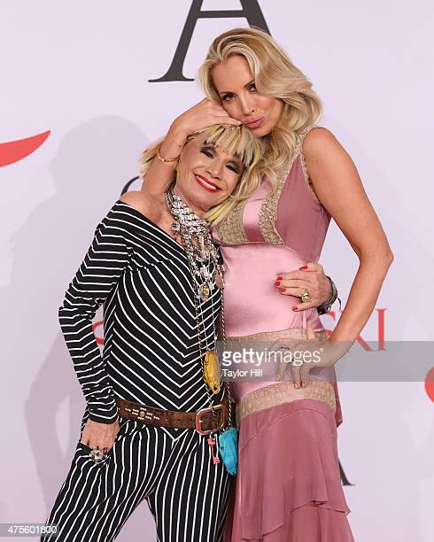 Betsey Johnson and Lulu Johnson attend the 2015 CFDA Awards at Alice Tully Hall at Lincoln Center on June 1 2015 in New York City