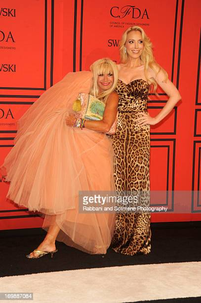 Betsey Johnson and Lulu johnson attends 2013 CFDA Fashion Awards at Alice Tully Hall on June 3 2013 in New York City
