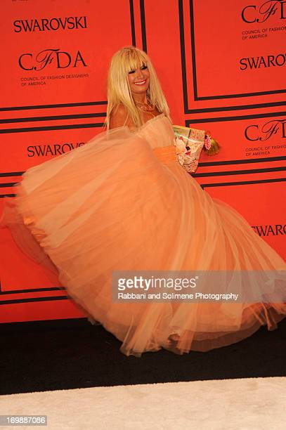 Betsey Johnson attends 2013 CFDA Fashion Awards at Alice Tully Hall on June 3 2013 in New York City