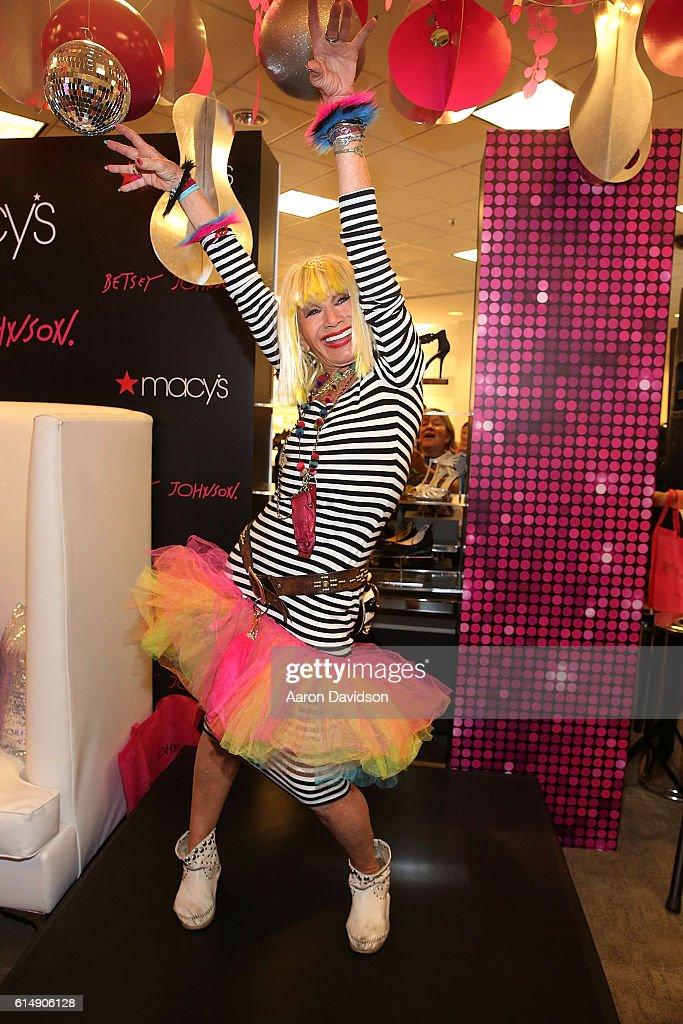 Betsey Johnson Trolls Meet And Greet at Macys