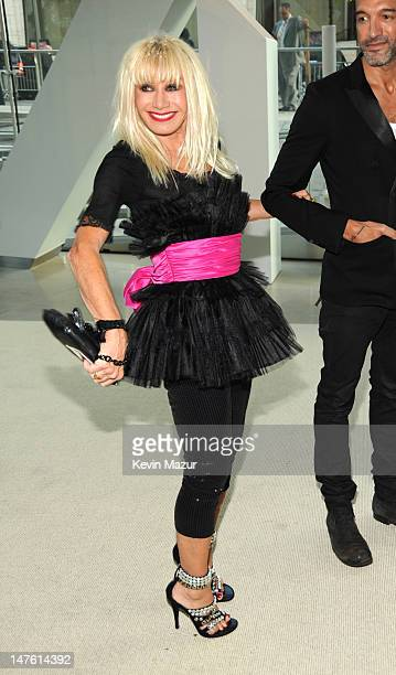Betsey Johnson attends the 2009 CFDA Fashion Awards at Alice Tully Hall Lincoln Center on June 15 2009 in New York City