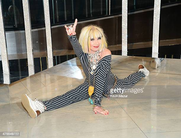 Betsey Johnson attends the 2015 CFDA Fashion Awards at Alice Tully Hall at Lincoln Center on June 1 2015 in New York City