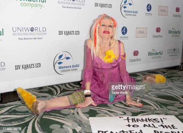 Betsey Johnson attends the Women's Guild CedarsSinai Annual Gala at the Beverly Wilshire Four Seasons Hotel on May 02 2019 in Beverly Hills California