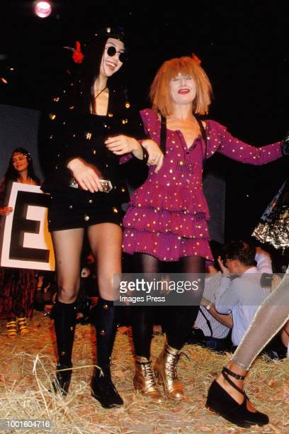 Betsey Johnson during New York Fashion Week circa 1989 in New York