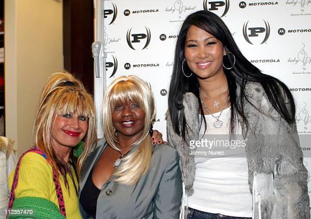 Betsey Johnson Janice Combs and Kimora Lee Simmons