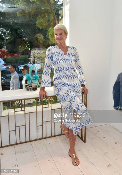 Betsy Berry attends the Modern Luxury Sam Edelman Summer Fashion Event on July 12 2018 in Southampton New York