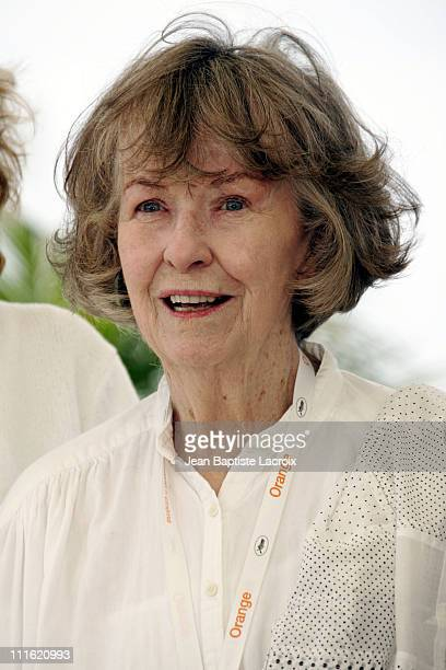 Betsy Blair during 2005 Cannes Film Festival Un Certain Regard Jury Photocall at Palais Du Festival in Cannes France