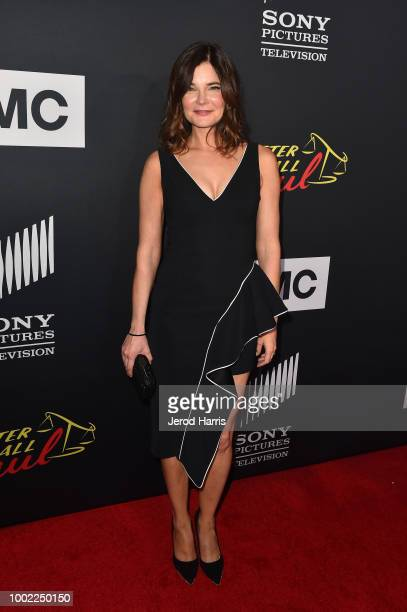 Betsy Brandt attends AMC's 'Better Call Saul' Premiere during Comic Con 2018 at UA Horton Plaza on July 19 2018 in San Diego California