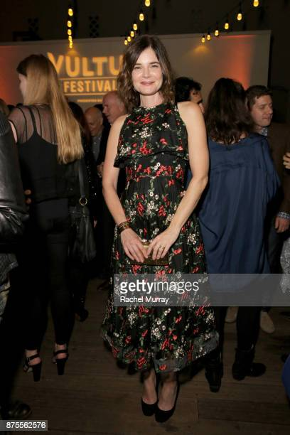 Betsy Brandt attends the opening night gala at Vulture Festival LA presented by ATT at Hollywood Roosevelt Hotel on November 17 2017 in Hollywood...