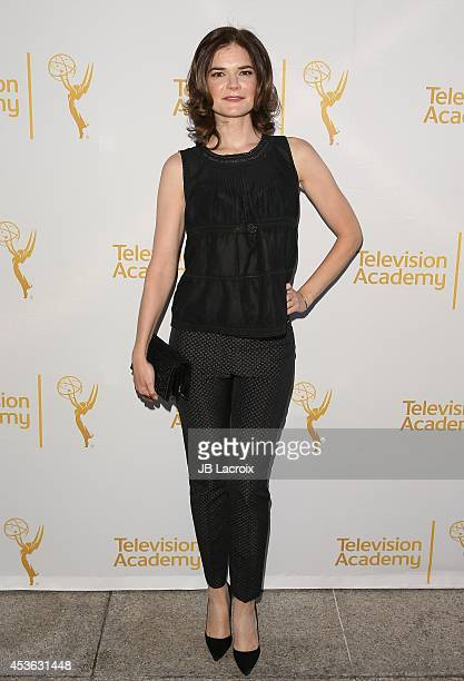 Betsy Brandt attends theTelevision Academy celebrates The 66th Emmy Awards Nominees for Outstanding Casting at Tanzi on August 14 2014 in Los Angeles...