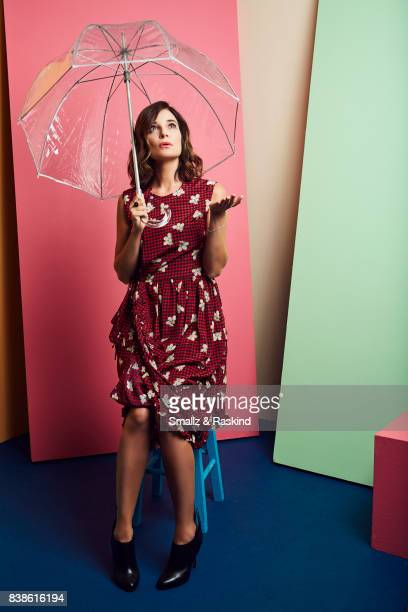 Betsy Brandt of Lifetime's 'Flint' poses for a portrait during the 2017 Summer Television Critics Association Press Tour at The Beverly Hilton Hotel...