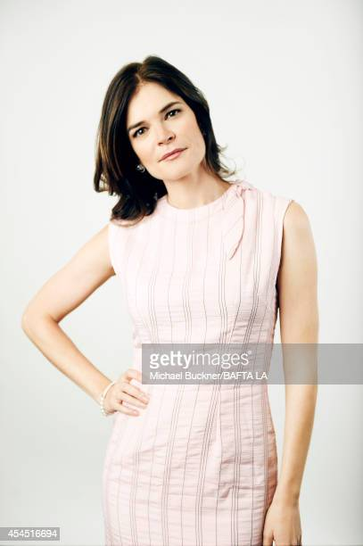 Betsy Brandt poses for a portrait at the BAFTA luncheon on August 23 2014 in Los Angeles California