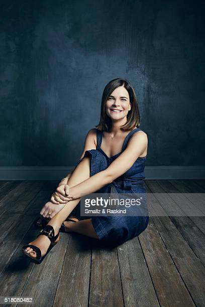 Betsy Brandt poses for a portrait in the Getty Images SXSW Portrait Studio Powered By Samsung on March 13 2016 in Austin Texas