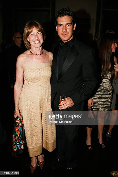 Betsy Hilfiger and Michael Frido attend Cocktail Reception in Honor of TOMMY HILFIGER and DEE OCLEPPO'S Engagement Hosted by MR and MRS LEONARD...