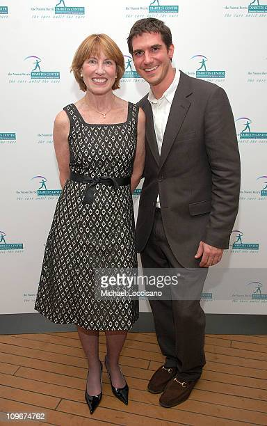 Betsy Hilfiger and son/NBDC board member Mike Fredo attend the first ever Art Rocks Benefit for Columbia University's Naomi Berrie Diabetes Center...