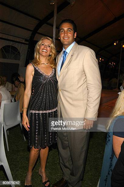 Betsy McCaughey and Italo Zanzi attend The Midsummer Party Benefit for The PARRISH ART MUSEUM at The Parrish Art Museum on July 8 2006 in Southampton...
