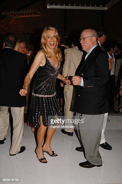 Betsy McCaughey and Peter Trent attend The Midsummer Party Benefit for The PARRISH ART MUSEUM at The Parrish Art Museum on July 8 2006 in Southampton...