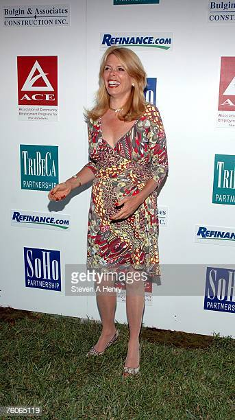 Betsy McCaughey attends the Sunflowers After Hours Dinner to Benefit ACE August 11 2007 in Southampton New York